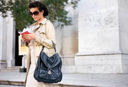 Красивая и модная итальянская дамская сумка марки Terrida из плотной...