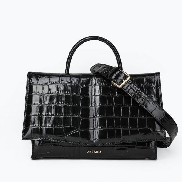 Классическая сумка Arcadia ar3940 cocco ba nero